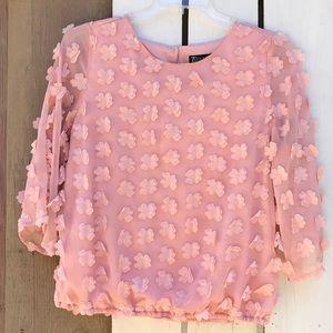 New York & Company embellished blouse